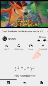 How to download a video from YouTube on Android