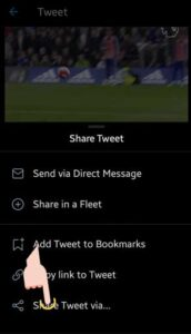 App Twimate download video from Twitter