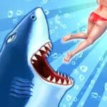 تحميل لعبة القرش الجائع apk للموبايل Hungry Shark Evolution