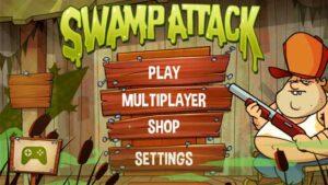 تحميل لعبة هجوم المستنقع swamp attack للاندرويد APK