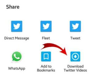 Twitter video downloader apk for android